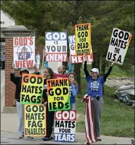 Is this Message for People of Faith? Westboro Baptist Church