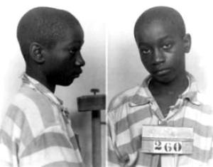 George Stinney Jr. just prior to his execution.
