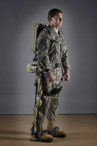 The Human Universal Load Carrier, or HULC, is an anthropomorphic exoskeleton that enables a soldier to carry 200 pounds of weaponry, supplies, ammo or wounded comrades for extended periods