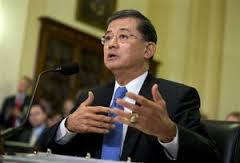 Eric Shinseki the current Unites States Secretary of Veterans Affairs