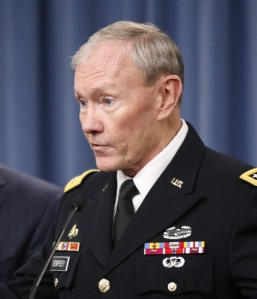 Chairman of the Joint Chiefs of Staff Four star General Martin Dempsey