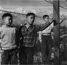 Japanese-American World War II civilian internment installations. (1942)