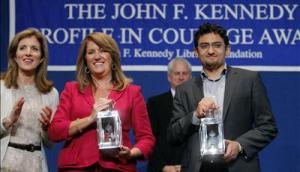 Wael Ghonim also received the JFK Profile in Courage Award. May of 2011