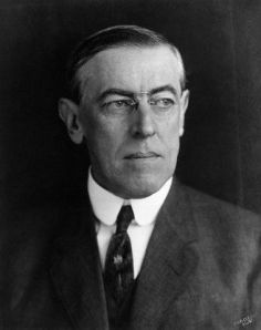 Woodrow Wilson during his first term as president. ca. 1910s