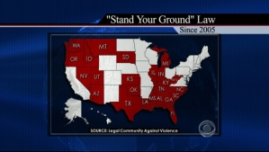 Stand Your Ground Map