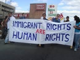Immigrant rights are high on the agenda
