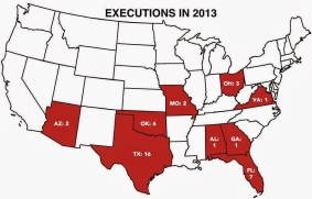 USA 2013 Executions