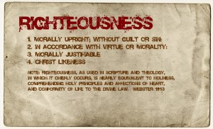 righteousness-defined