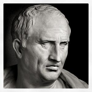 Marcus Tullius Cicero  (January 106 BC – 7 December 43 BC)
