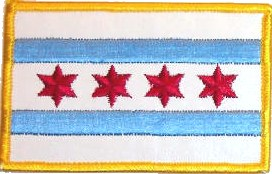 Chicago-city-flag-patch
