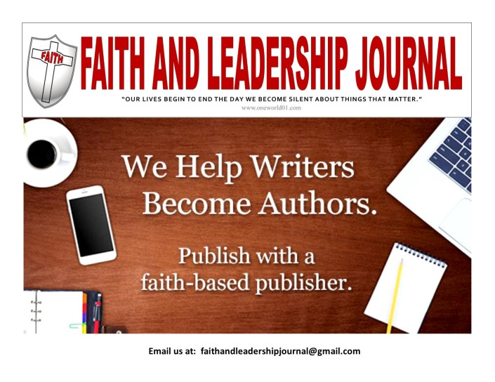Faith and Leadership Opt ed Writers